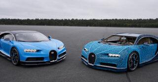 បង្កេីតឡាន Bugatti Chiron ដោយប្រេី LEGO 1,000,000+