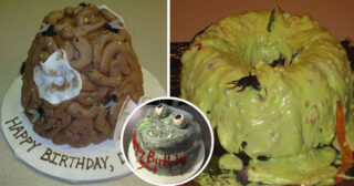 25 hilariously crazy birthday cakes that might be seen disgusting to you