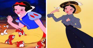 អ្វីដែលម្ចាស់ក្សត្រី Disney គួរតែមានរូបរាងពិតប្រាកដ!!!